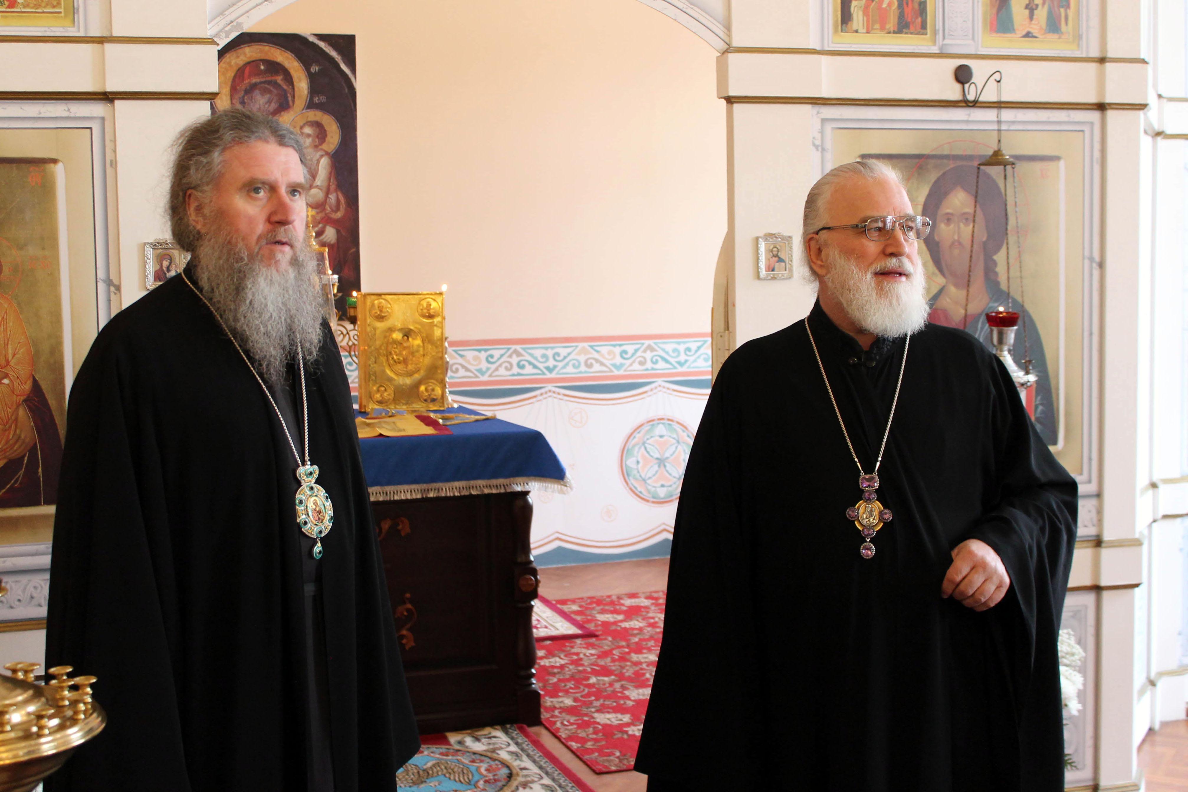 Патриарший Экзарх всея Беларуси посетил Витебскую духовную семинарию.