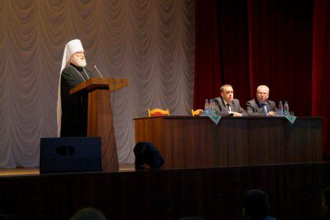 Патриарший Экзарх всея Беларуси Митрополит Минский и Слуцкий Павел посетил Витебский государственный университет имени П.М. Машерова.