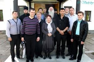 Посещение Болдинского монастыря