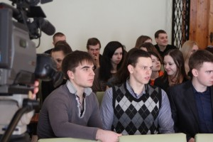 Встреча со студентами Машерова