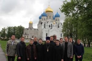 Божественная Литургия в семинарском храме в честь преподобного Пимена Угрешского