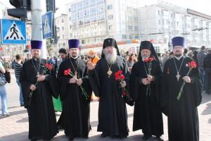 руководство и студенты Витебской духовной семинарии приняли участие мероприятиях, посвященных 70-летию победы в Великой Отечественной войне