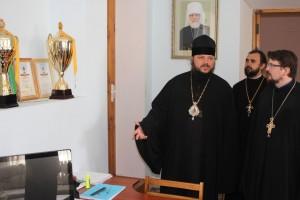 Витебскую духовную семинарию с частным визитом посетил епископ Бердянский и Приморский Ефрем