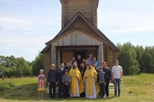 Преподаватели и студенты духовной семинарии посетили епархиальный скит