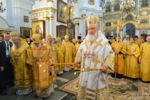 Первосвятительский визит Святейшего Патриарха Московского и всея Руси Кирилла в Республику Беларусь