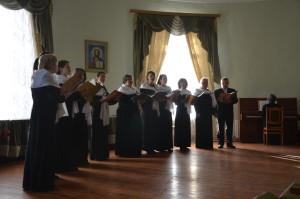 В Витебской духовной семинарии состоялся концерт духовной музыки