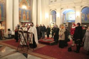 Молебен святым мученикам младенцам Вифлеемским