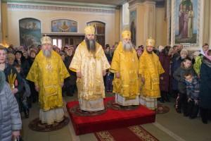 Ректор духовной семинарии посетил Алтайскую митрополию