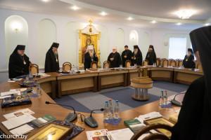 Ректор духовной семинарии принял участи в заседании Синода БПЦ