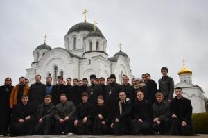 Преподаватели и студенты духовной семинарии посетили город Полоцк