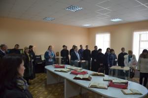 В стенах духовной школы начала работу книжная выставка «Аз есмь всему миру свет», приуроченная Дню Православной книги