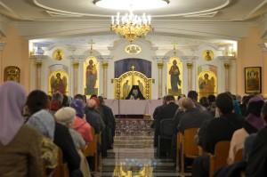 В храме Преображения Господня города Витебска состоялось собрание духовенства и мирян Витебской епархии