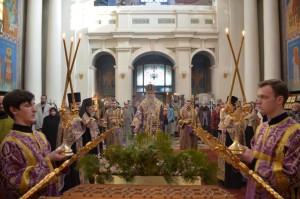 Всенощное бдение в канун Недели 5-й Великого поста, дня памяти Марии Египетской