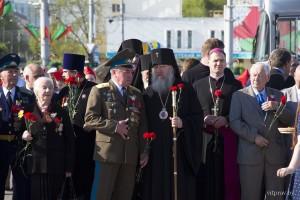 9 мая 2016 года, руководство и студенты Витебской духовной семинарии приняли участие в мероприятиях, посвященных 71-годовщину победы в Великой Отечественной войне 1941-1945 г.