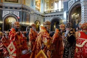 Ректор Витебской духовной семинарии сослужил Патриарху Московскому и всея Руси