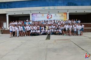 Студенты духовной семинарии стали участниками 15-го юбилейного Международного лагеря студенческого актива «Славянское Содружество»