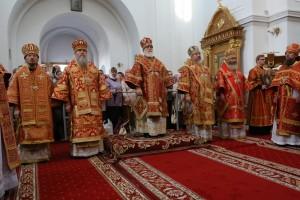 Ректор Витебской духовной семинарии принял участие торжествах в честь дня памяти преподобной Евфросинии, игумении Полоцкой