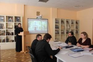-В духовной семинарии прошла защита курсовых работ