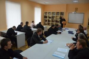 В Витебской духовной семинарии состоялась защита выпускных дипломных работ