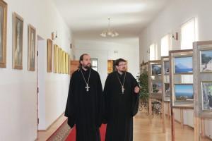Представитель Патриарха Московского и всея Руси Кирилла в Белорусском Экзархате игумен Вассиан (Змеев) посетил Витебскую духовную семинарию