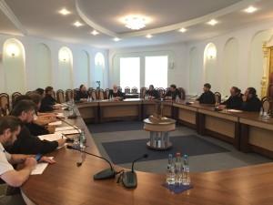 Ректор Витебской духовной семинарии принял участие в совещании ректоров и проректоров духовных училищ Белорусской Православной Церкви.