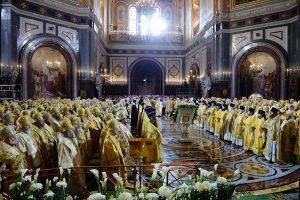 Ректор духовной семинарии принял участие в торжествах по случаю 70-летия Святейшему Патриарху Московскому и всея Руси Кирилл