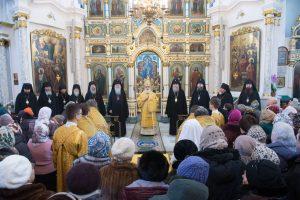 Служение ректора в день памяти святого апостола Андрея Первозванного