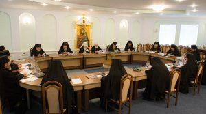 Ректор духовной семинарии принял участие в заседании Синода Белорусской Православной Церкви
