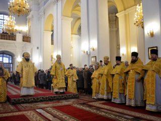 Служение ректора в день памяти святого благоверного князя Александра Невского