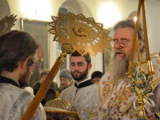 Служение ректора в канун праздника Богоявления