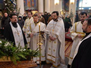 Божественная литургия в навечерие Рождества Христова