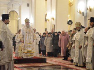 Служение ректора в праздник Рождества Христова