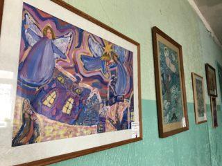 Первый проректор принял участие в открытие выставки «На крыльях ангела»