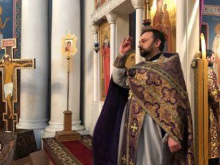 В пятницу первой седмицы Великого поста проректор по учебной работе возглавил Литургии Преждеосвященных Даров