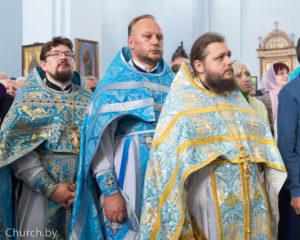 Протоиерей Константин Изофатов принял участие в торжествах по случаю праздника Сукневичской иконы Божией Матери
