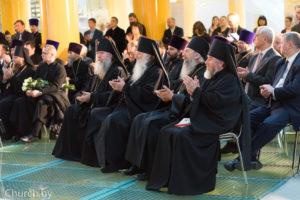 Ректор семинарии посетил презентацию перевода Священного Писания Нового Завета насовременный белорусский язык