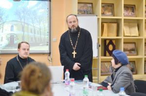 Семинаристы, несущие послушание на сайте, приняли участие в семинаре по православной веб-журналистике