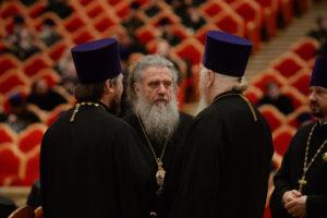 Ректор и преподаватели семинарии приняли участие в Епархиальном собрании города Москвы