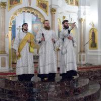 Рождественское богослужение в Свято-Успенском соборе города Витебска