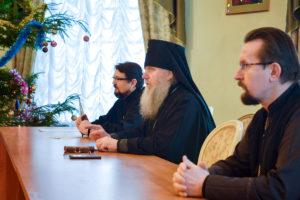 Состоялась предрождественская встреча ректора со студентами