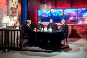 Преподаватели и студенты семинарии выступили в прямом эфире телеканала «Витебск»
