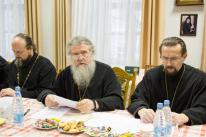 Ректор Витебской духовной семинарии встретился с представителями СМИ