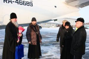 Ректор Витебской духовной семинарии посетил Югорскую епархию