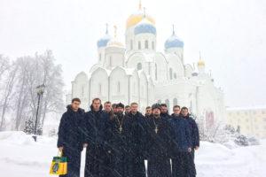Преподаватели и семинаристы посетили Николо-Угрешский монастырь и Представительство Белорусского Экзархата в Москве