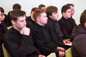Профессор Минской духовной академии рассказала студентам и преподавателям семинарии о жизни и трудах высокопреосвященного Иосифа (Семашко)