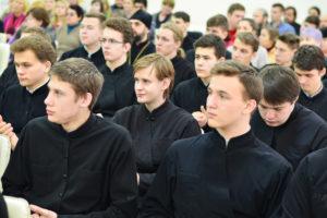Студенты и преподаватели семинарии посетили презентацию книги Нового Завета на современном белорусском языке
