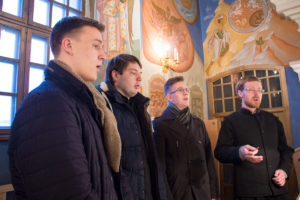 Первый проректор совершил утреню с чтением Великого канона преподобного Андрея Критского