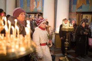 Праздник Входа Господня в Иерусалим в храме Воскресения Христова