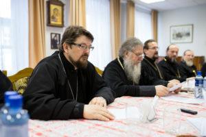 Руководство Витебской духовной семинарии приняло участие в Пасхальной пресс-конференции