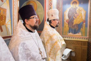Ректор Витебской духовной семинарии возглавил престольные торжества в храме Благовещения Пресвятой Богородицы